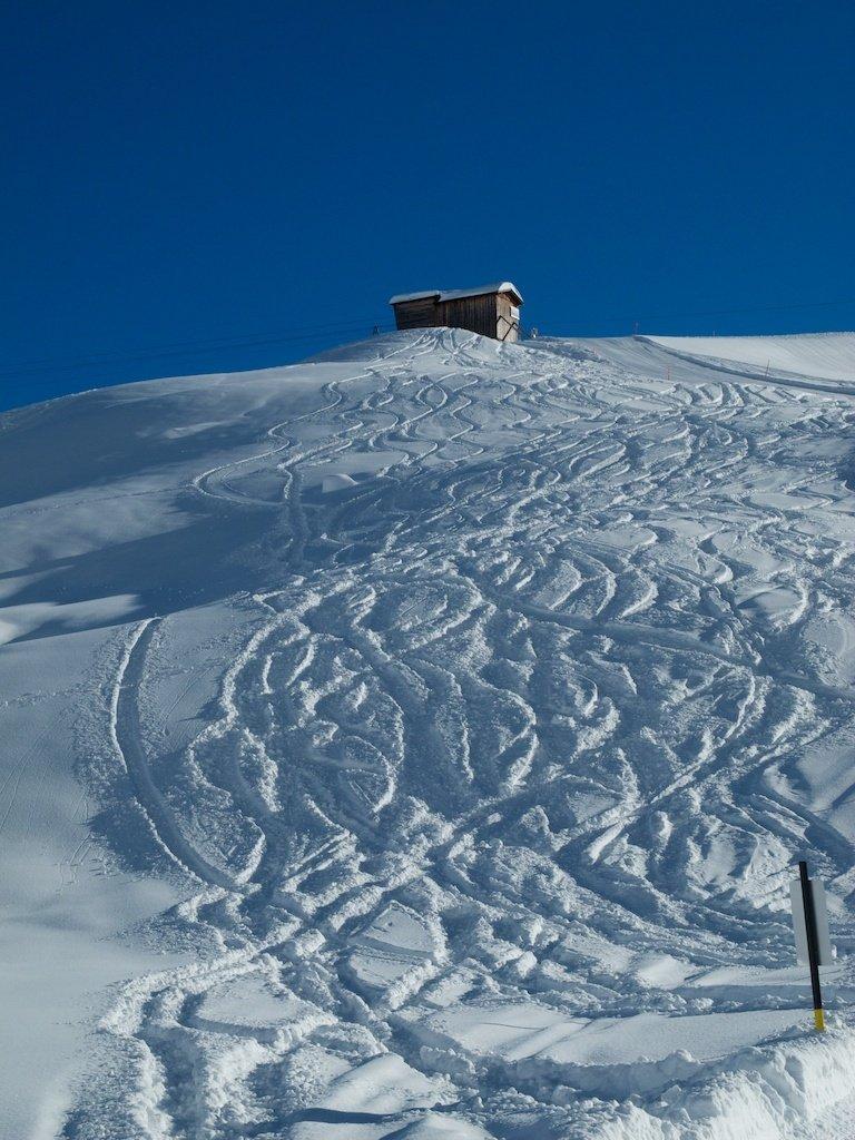 Gran día para probar los esquís DPS
