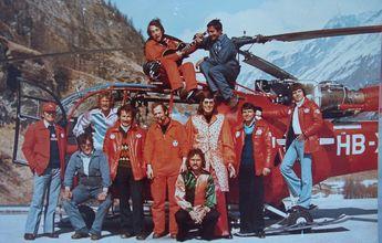 50 aniversario de Air Zermatt