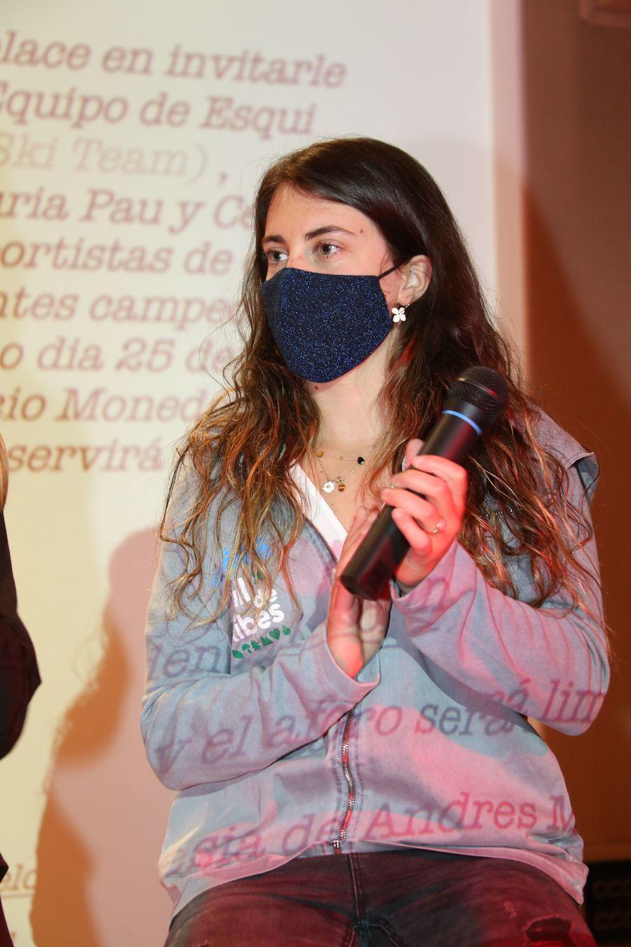La esquiadora catalana Nuria Pau