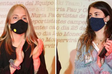 Nuria Pau y Celia Abad se enrolan en el primer equipo de esquí femenino privado de España