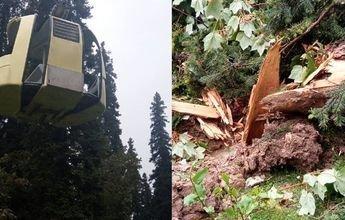 7 muertos al caer un remonte en la estación de Gulmarg (India)