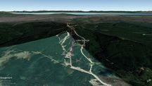 Vista Google Earth Cerro Mirador 2019