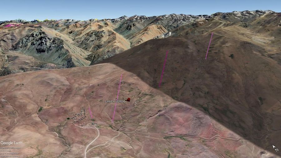 Vista Google Earth Chapa Verde 2019
