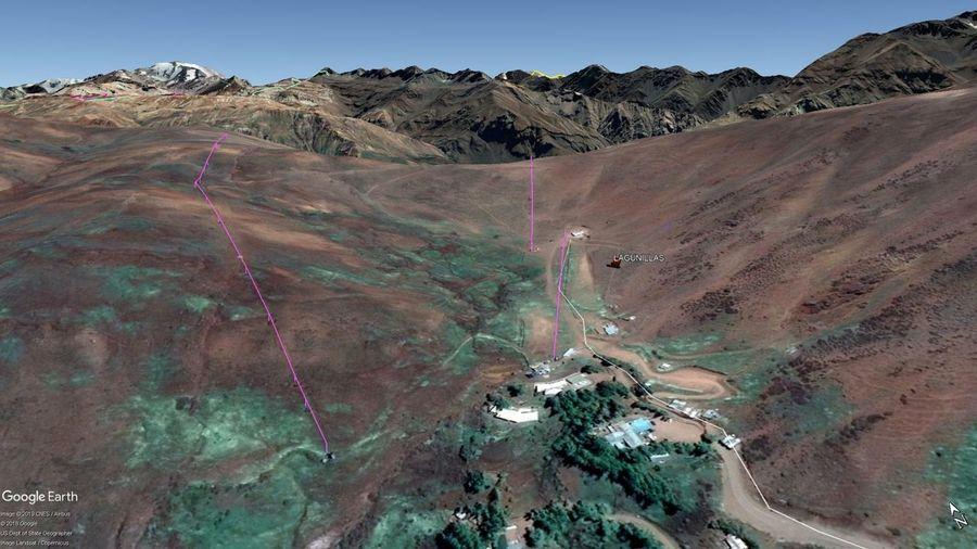 Vista Google Earth Lagunillas 2019