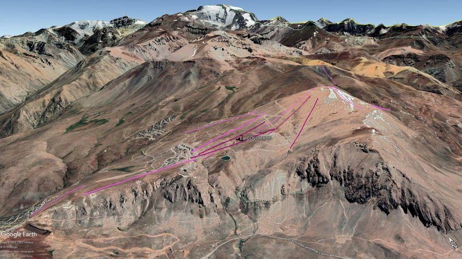 Vista Google Earth El Colorado 2019