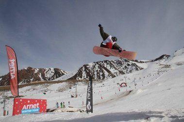 Snowboard en Las Leñas