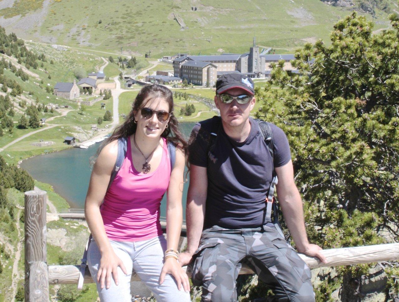 Nuria Pau y Victor Riverola