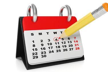 ¿Has mirado el calendario?