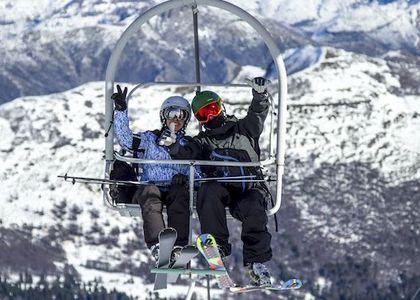 Siguen las excelentes condiciones de nieve en Nevados de Chillán