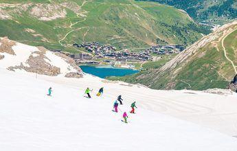 Cierra el glaciar de Tignes por las altas temperaturas