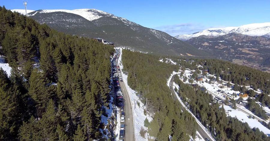 Urbanización de la estación de esquí del Port del Comte