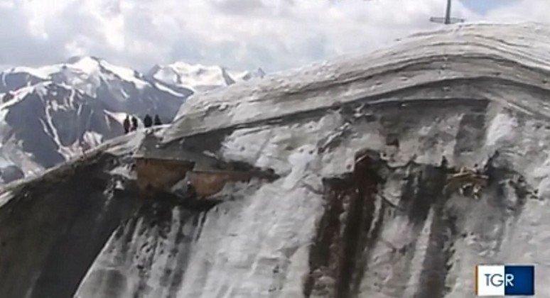 cabaña glaciar