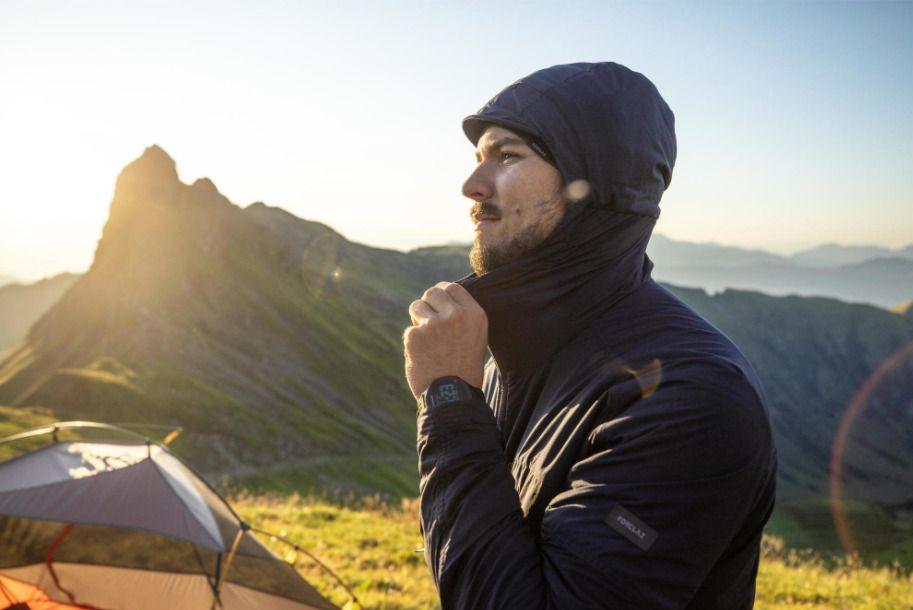 Softshell Montaña y Trekking Forclaz Trek 900