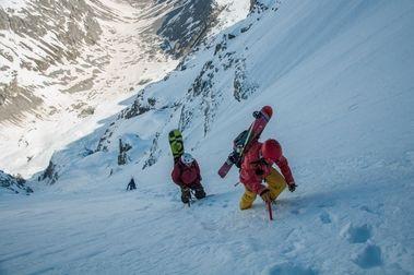 Col de Roche Faurio - Couloir Nord