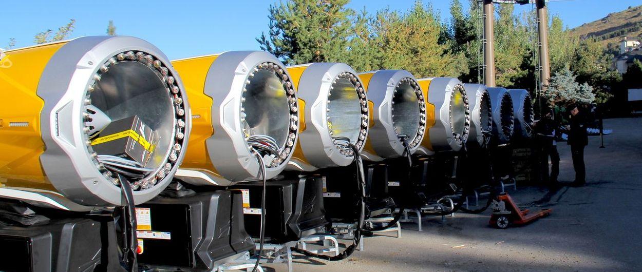 Sierra Nevada adquiere 33 nuevos cañones de última generación