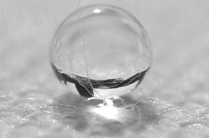 La nano-tela más impermeable jamás creada