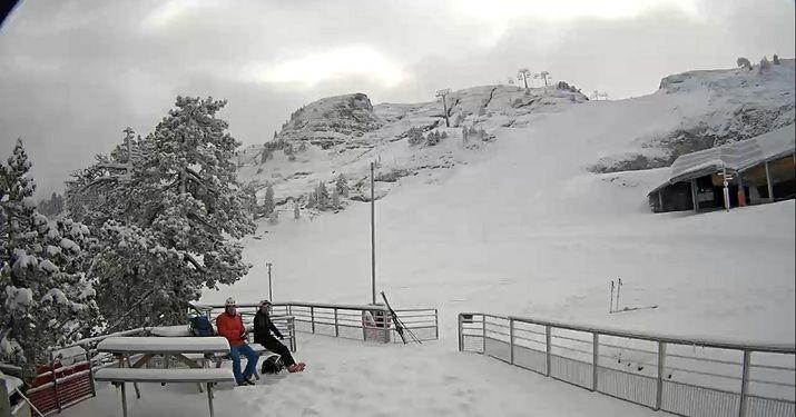 26 nov. en La Pierre Saint-Martin con nieve nueva