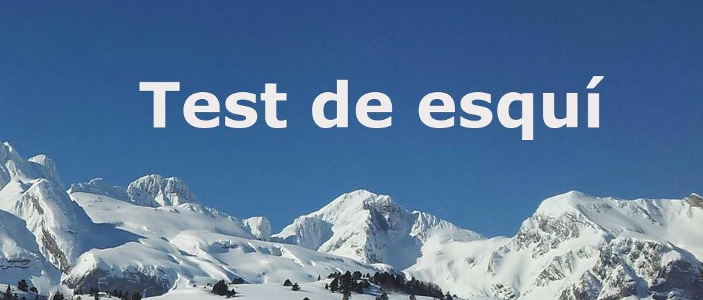 Test ¿Cuánto sabes de esquí?