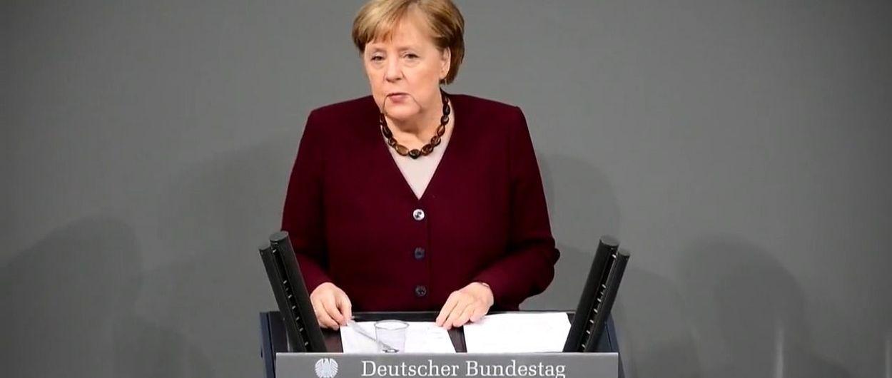 Merkel quiere pedir a Bruselas el cierre de todas las estaciones de esquí de Europa