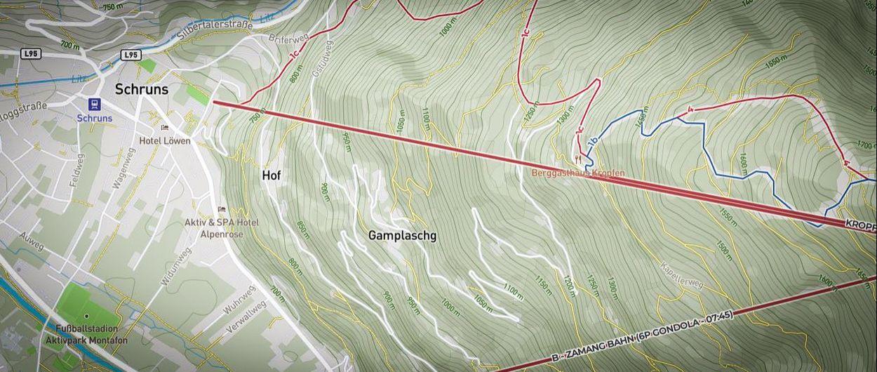 Escoge mejor tus itinerarios: guía de mapas para freeride, esquí de montaña y estaciones