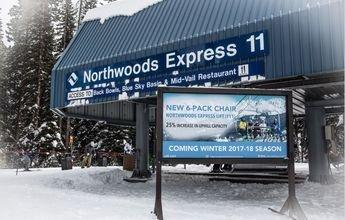 Vail sustituirá el Northwoods Express por un seis plazas