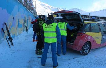 30 multas a esquiadores fuera de Huesca por saltarse el confinamiento