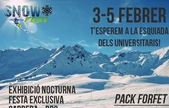 La II edición de la Snowfest llega el próximo fin de semana a Espot