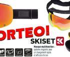 Sorteo Skiset máscaras de esquí intercambiables