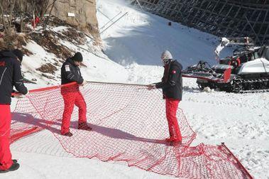 El coronavirus pone en jaque las pruebas de Copa del Mundo de esquí en China