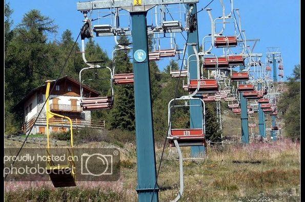 La estación de esquí de Chamois