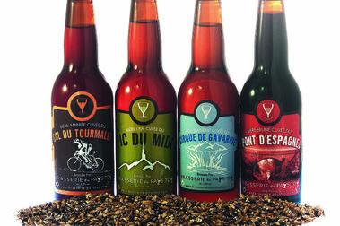 Tres cervezas artesanales del Pirineo francés elaboradas con agua pura