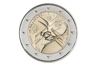 Nueva moneda de 2 euros andorrana con las Finales de Copa del Mundo en Grandvalira