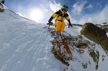 Cómo grabar los vídeos más espectaculares de esquí con la Insta360 ONE R