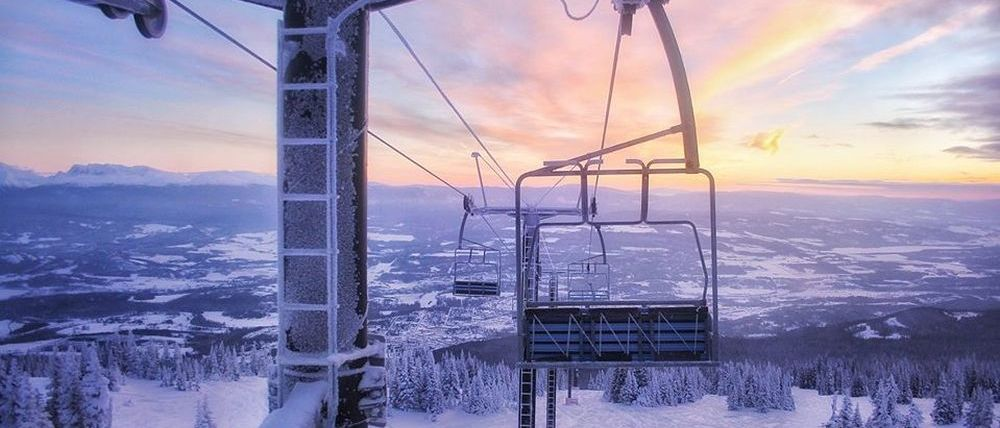 Ni una sola estación de esquí abierta en todo el continente americano