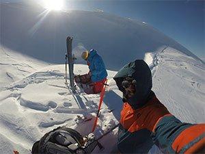 Esquí de montaña en Senja - Kvænan