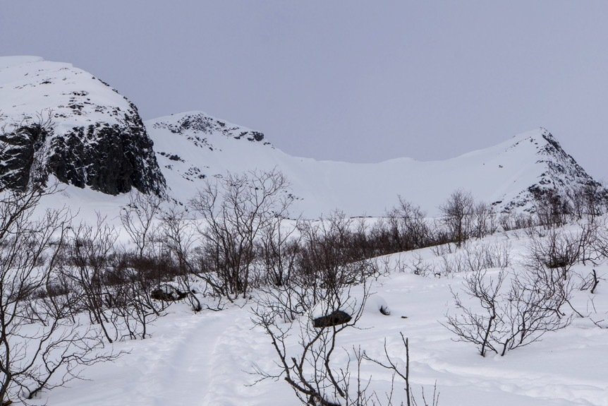 Traveseando por los Alpes de Sunnmore (Noruega, Semana Santa)