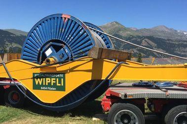 Vallnord - Pal Arinsal cambia el cable del telecabina de La Massana