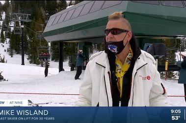 30 años subiéndose a la silla que cierra la temporada de esquí en Alta