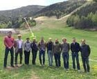 Técnicos de la FIS visitan las pistas de Grandvalira 2016
