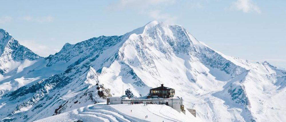 Los glaciares europeos viven una primavera con mucha nieve