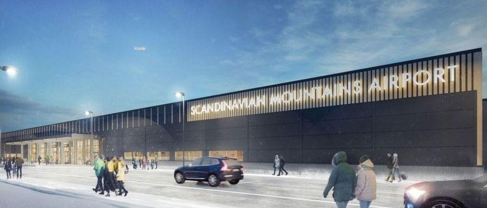 Scandinavian Mountains Airport: la nueva competencia al esquí de los Alpes