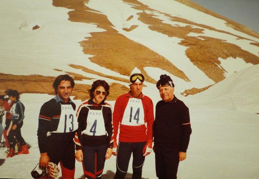Esqui de Chipre en los '70