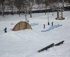 Una estación solo para snowboarders crecerá con tierras de una carretera