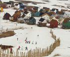 Un Día en el Centro de Ski Chapa Verde