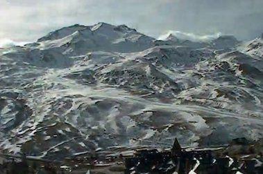Temporada 2010 - 11 en Formigal vista desde la webcam