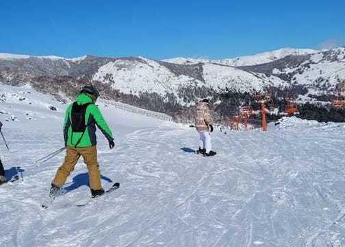 Nieve caída permite que Nevados de Chillán abra más pistas y andariveles