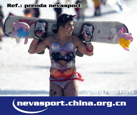Prenda Nevasport en China