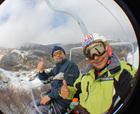 Esquiando en Nevados de Chillán