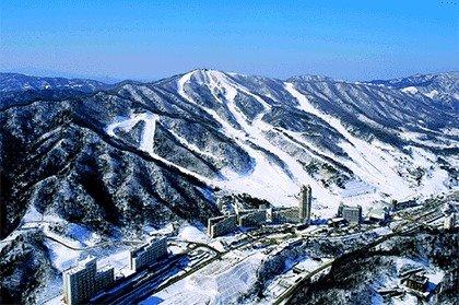 Montañas de los J.J.O.O. Pyeongchang 2018