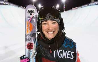 Nació en Francia, es caribeña y será olímpica con esquís españoles